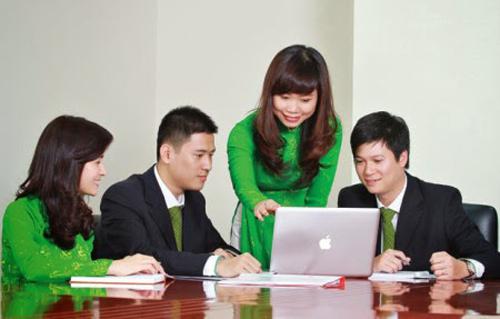 Dịch vụ vay vốn ngân hàng Vietcombank
